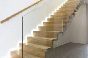 Holzstiegen – Faltwerktreppe
