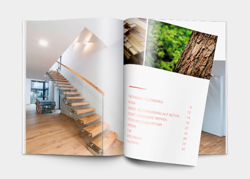 Katalog Treppen und Stiegen aus Holz