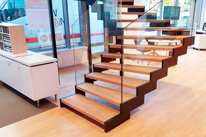 Moderne Treppe moderne treppe für čsob kreditinstitut in prag swnmoravia